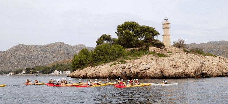 kayaks