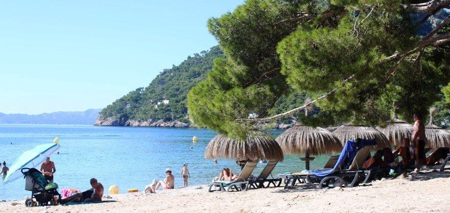 Ansicht von Formentor Strand