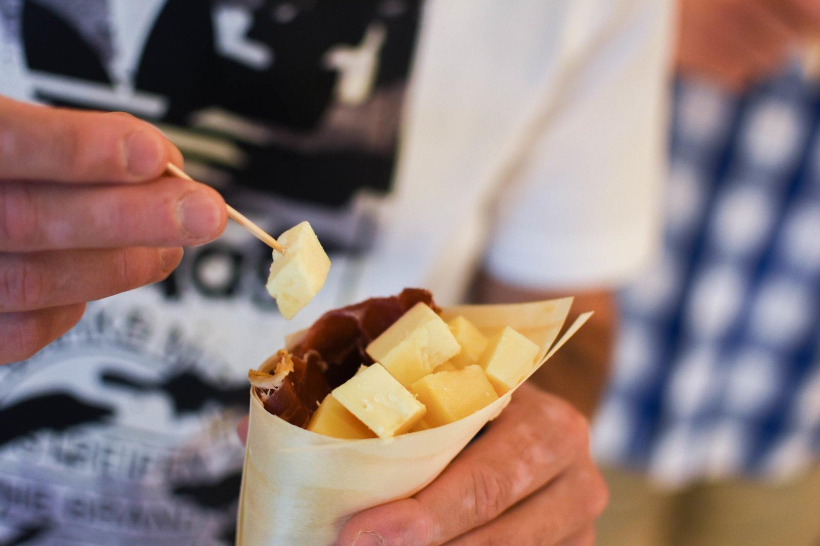 Lokales Essen von Mallorca
