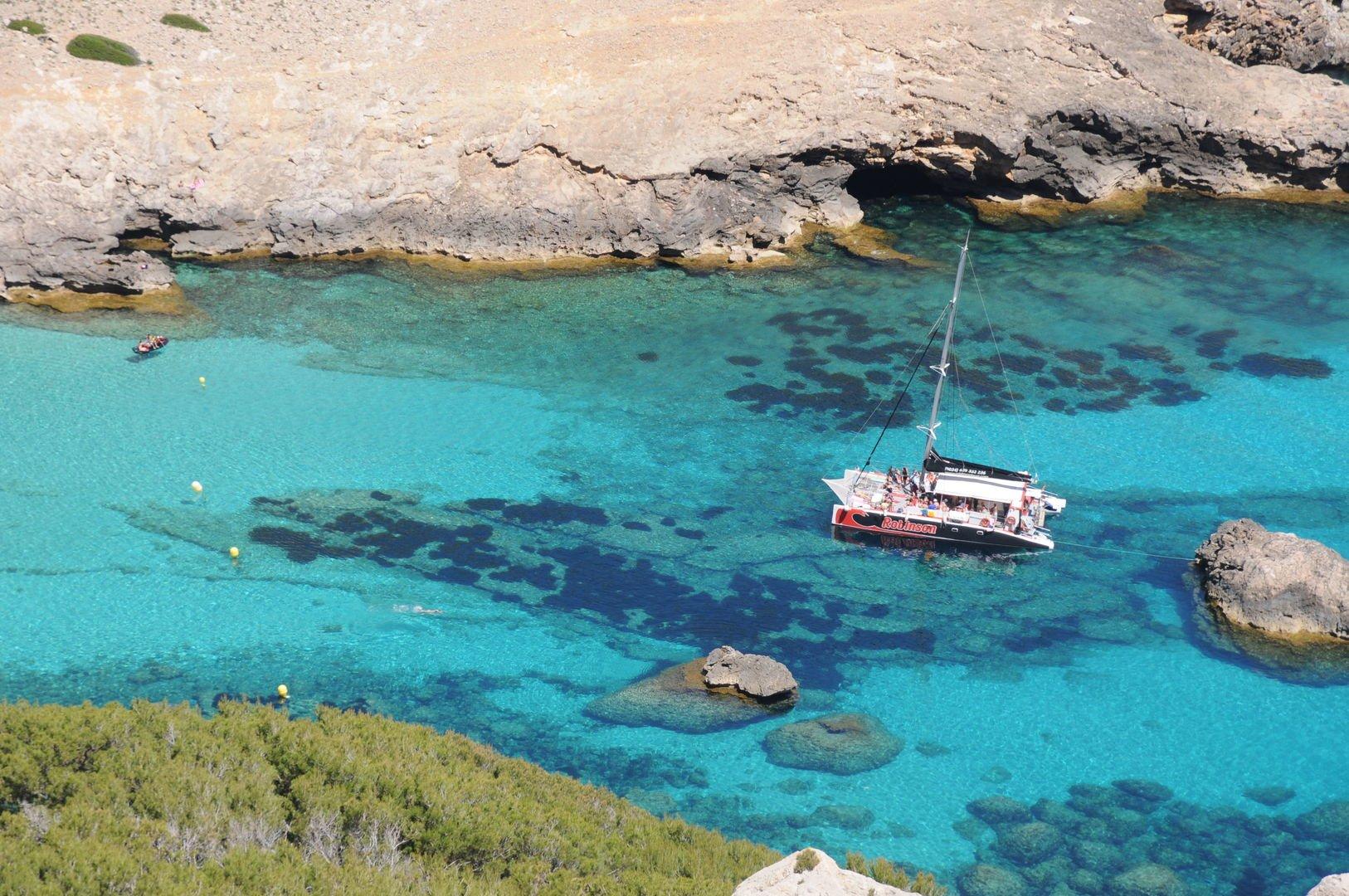 views from Robinson Catamaran