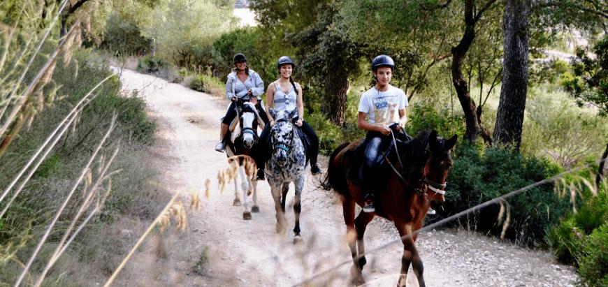 horse riding in alcudia